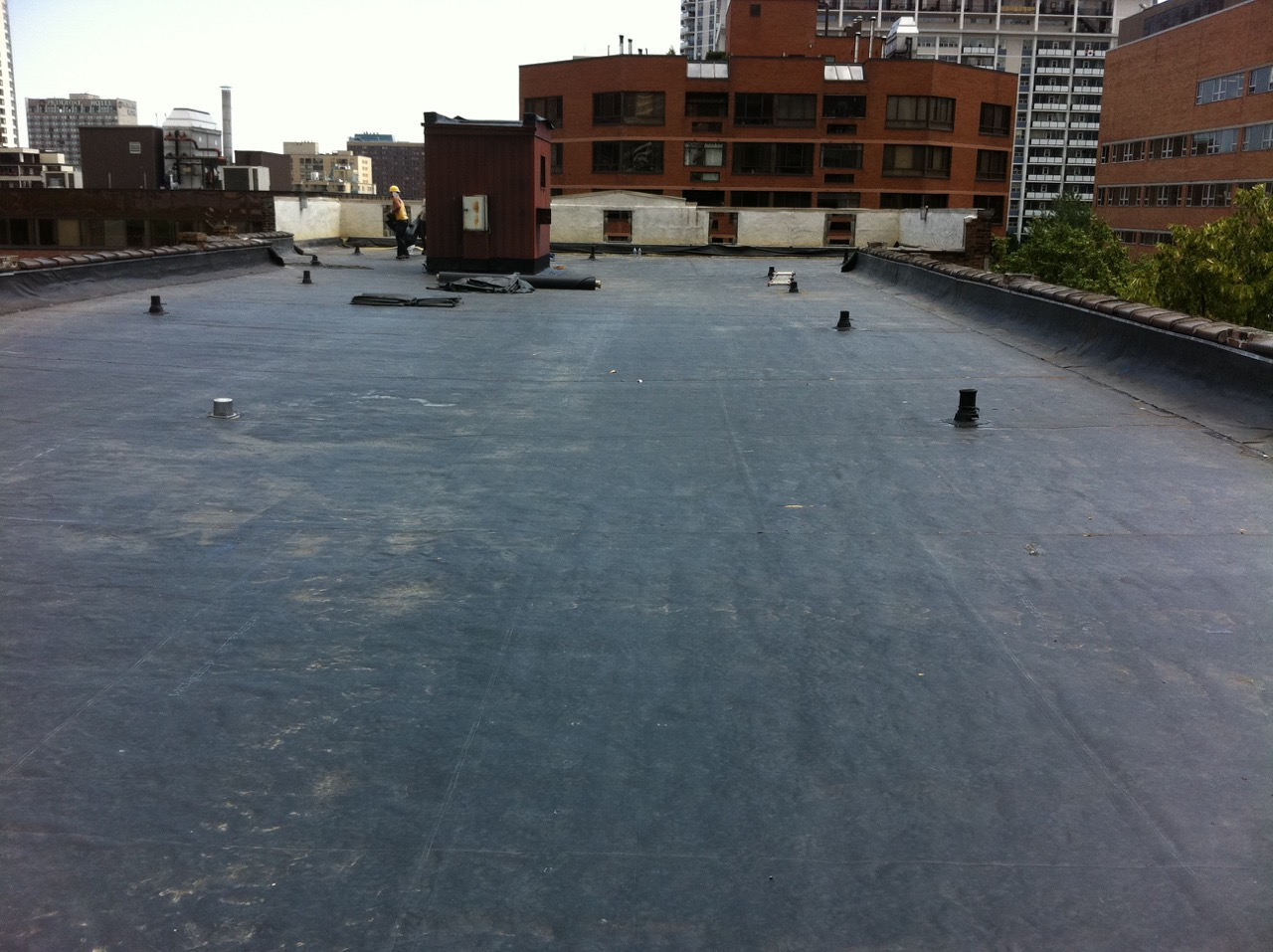 TPO commercial roofing