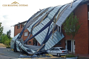 Commercial Roof Storm Damage