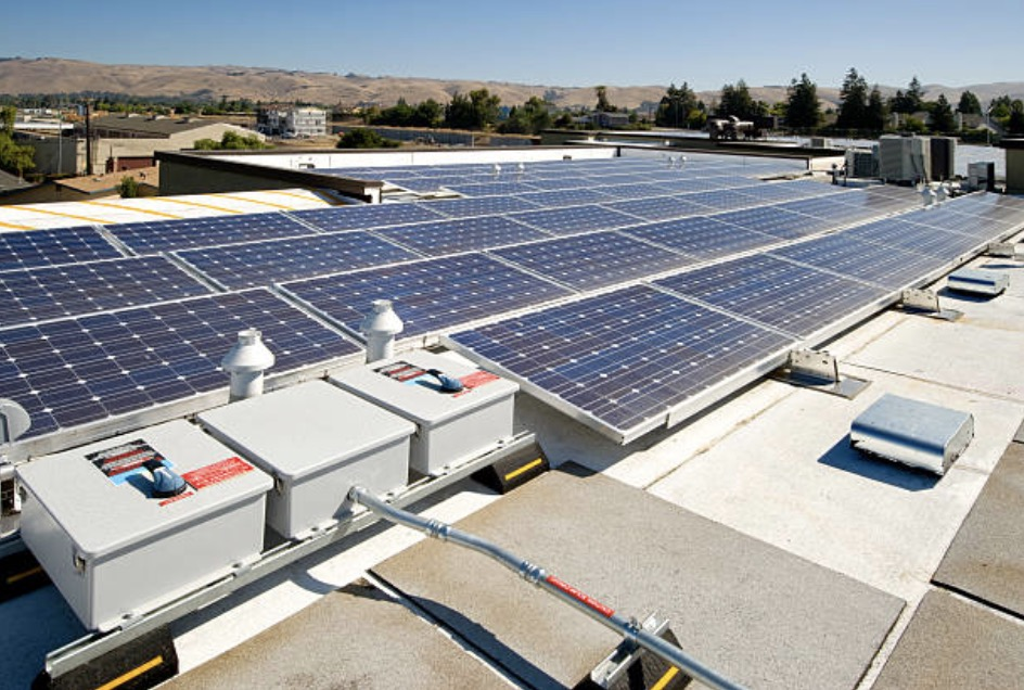 Integrate solar panels for clean energy