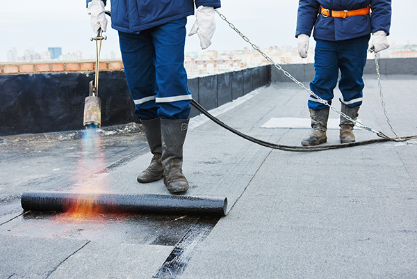 Modified Bitumen Commercial Flat Roof Pros And Cons Cox Roofing