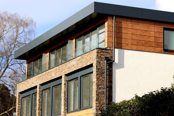 Flat Roofed Residential Property