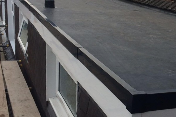 Rubber Roof Corner