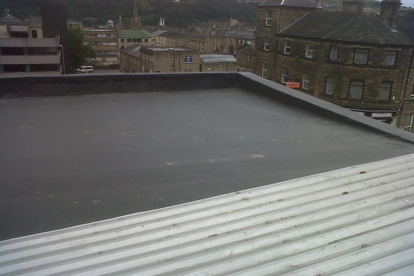 Rubber Roof Section
