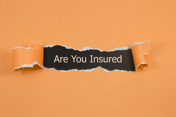 orange paper questioning you about insurance